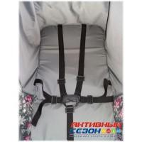 Kristy Comfort Luxe Plus BK Темно Серый (Снежинки)