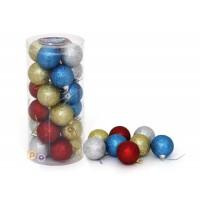 Набор 24 шара (д=5 см) пластмасса (100295)