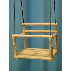 Качели деревянные детские подвесные г.Волжск