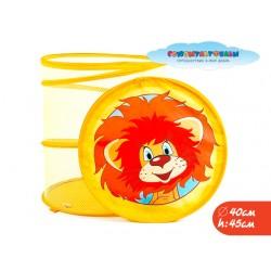 Корзина для игрушек Львенок и Черепаха в пакете 45*50см ТМ СОЮЗМУЛЬТФИЛЬМ