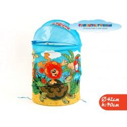 Корзина для игрушек Львенок и Черепаха в пакете 40*68см ТМ СОЮЗМУЛЬТФИЛЬМ