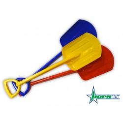 Лопата детская 70 см НОРД (красный,синий,желтый)