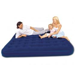 Надувная кровать Bestway King флокированная (203x185x23см) 67004