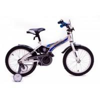 """Детский велосипед Полиция 18"""" (белый / синий)"""