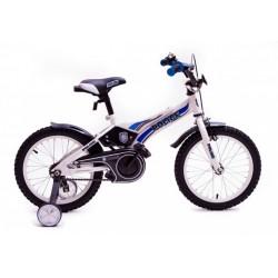 """Детский велосипед Полиция 16"""" (белый / синий / черный)"""
