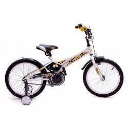 """Детский велосипед Такси 16"""" (белый / желтый)"""