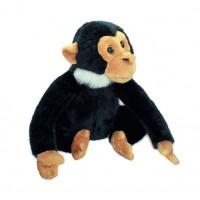 "Мягкая игрушка Обезьяна мини ""Wiki Zoo"" с обучающим чипом в 5 нажатий 16 см"
