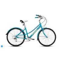 """Велосипед Forward Azure 1.0 (2016) (26"""" 7 скор.) (Р-р = 17; Цвет: Голубой (Матовый)) Рама Алюминий"""