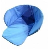 Матрасик для санок из водоотталкивающей ткани (голубой, оранжевый, салатовый)