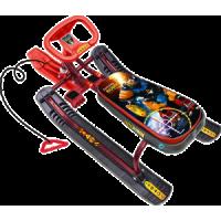 Снегокат «ТИМКА СПОРТ» высокий ТС1 (Робот (бордовый каркас))