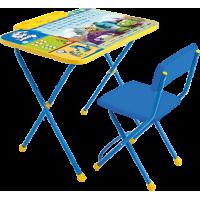 """Комплект детской мебели Ника Детям Disney """"Университет Монстров"""" (стол+стул мягкий (моющаяся ткань))"""