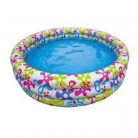 """Надувной бассейн """"Цветные брызги"""" (168х40см) 56440"""