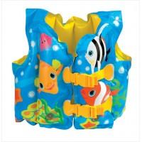 Жилет с рыбками Intex (41х31см. от 3 до 5 лет) 59661