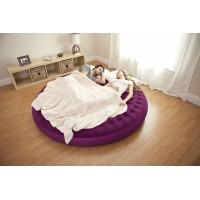 """Надувная кровать-кресло Intex """"Круглая ложе"""" (191х53см) 68881"""