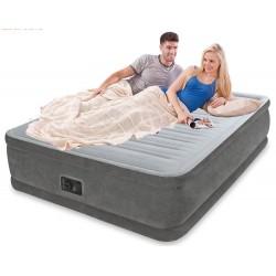 Надувная кроватьIntex Comfort-Plush Elevated Airbed (152х203х46см) со встроенным насосом 220В 64414
