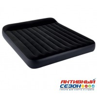 Матрас надувной Pillow Rest Classic Fiber-Tech (183 х 203 х 25 см) 64144 INTEX