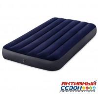 Матрас надувной Classic Downy Fiber-Tech (99 x 191 x 25 см) INTEX 64757