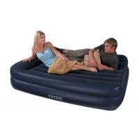 Надувная кровать Intex со встроенным насосом 220В (152х203х47см) 66702