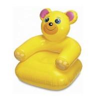 "Надувное кресло Intex ""Счастливый зверек"" (65х64х74см/3 цвета) 68556"