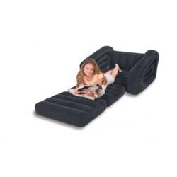 Надувное кресло-трансформер Intex Pull-Out Chair (109х218х66см) 68565