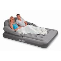Надувная кровать Intex с насосом (152х203х71см) 68916