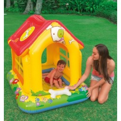 """Надувной бассейн Intex """"Любимый щенок"""" (142*117*122 см.) Возраст: 1-3 года. 57429"""