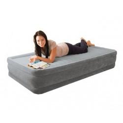Надувная кровать Intex со встроенным насосом 220В (191 x 99 x 33 см.) 67766