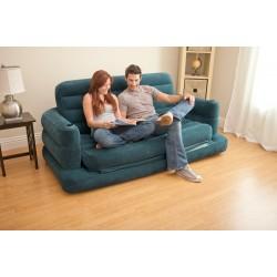 Надувной диван-трансформер Pull-Out Sofa INTEX 68566 (193х231х71 см.)