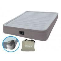Надувная кровать Intex Comfort-Plush Mid Rise Airbed 67768 (с насосом 220 В) (137х190х33см) 67768