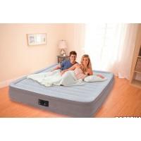 Надувная кровать Intex Comfort-Plush Mid Rise Airbed 67768 (с насосом 220 В) (137х191х33см) 67768