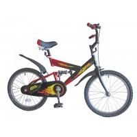 "Велосипед 20"" SAFARI proff Стихии 2-х колесный, пер/зад тормоз, багажник, задний амортизатор, GT6644"