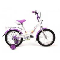 """Детский велосипед SAFARI Flora (18""""), фиолетовый"""