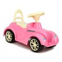 Каталка Машина для катания детей, розовая, до 30 кг ОРИОН 1170279