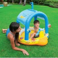 """Надувной бассейн Intex для малышей """"Маленький Капитан"""" (107х102х99см) 57426"""