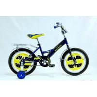 """Велосипед Batboy 18"""" (Черный / Синий )"""