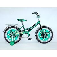 """Детский велосипед Черепашка 18"""" (Зеленый)"""