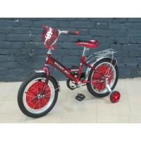 """Детский велосипед Spiderboy 16"""" (Красный / Черный )"""