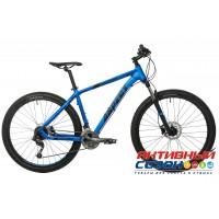 """Велосипед ASPECT AMP (27.5"""" 27 скор.) (Р-р = 20""""; Цвет: Синий) рама Алюминий"""