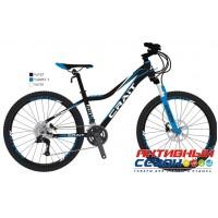 """Велосипед CRAIT EVOLINE CRISS 24 (2019) (24"""" 21 ск.) (Цвет: черный-зеленый; черный-синий; черный-оранжевый) Рама Сталь"""