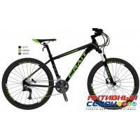 """Велосипед CRAIT EVOLINE REONE FATBIKE 26 (2019) (26"""" 21 ск.) (Р-р = 18""""; Цвет: черный-красный; черный-зеленый; черный-синий) Рама Алюминий"""