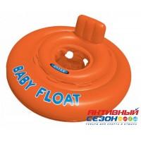 """Круг для плавания """"MY BABY FLOAT"""",с сиденьем, (76см) от 1-2 лет 56588 INTEX"""