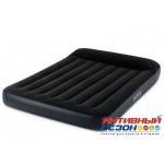 Надувной матрас Pillow Rest Classic Bed Fiber-Tech со встроенным насосом (152х203х25) 64148