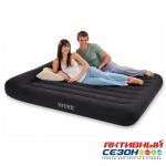 Надувной матрас Pillow Rest Classic Bed со встроенным насосом (152х203х25) 64150