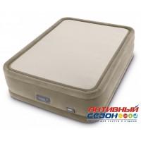 Надувная кровать PremAire ThermaLux Intex с насосом 220В (152x203x51) 64936