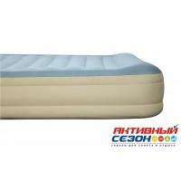 Надувная кровать Essence Fortech, встроенный электронасос BestWay (203х152х36см) 69007