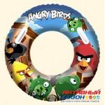 Надувной круг для плавания (91 см) Angry Birds (96103B)