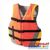 Жилет для плавания с пенопластовыми вставками Intex