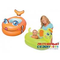 Надувной детский бассейн Bestway от 1 года (89*61*58см) 51125