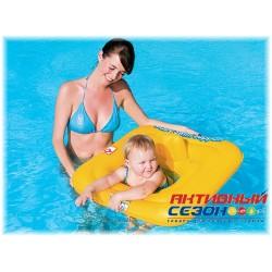 Надувной круг Bestway Swim Safe c сиденьем и спинкой (69х69см) 32050