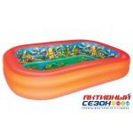 Надувной бассейн Bestway с 3D рисунком Поиски сокровищ (262x175x51 см) 54114B